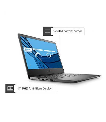 "Dell Vostro 3400 14"" FHD AG Display Laptop (11th Gen i5-1135G7, 8GB RAM, 1TB HDD, Integrated Graphics, Windows 10, Office H&S 2019, Black)"