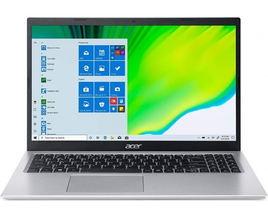 "Acer Aspire 5 A515-56 Thin and Light Laptop (11th Gen Core i5-1135G7, 8GB RAM, 1TB HDD + 256GB SSD, 15.6"" Full HD Display, Windows 10, Office H&S 2019, 1.65Kg) Silver"