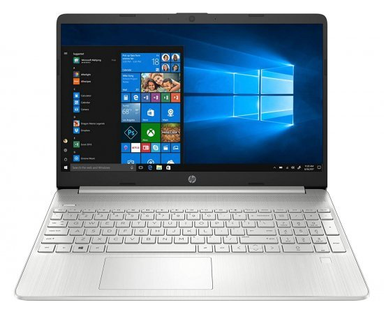 HP 15 (2021) Thin & Light 15.6-inch FHD Laptop with Alexa Built-in (11th Gen Core i5-1135G7, 8GB RAM, 512GB SSD, Windows 10, MS Office, Backlit KBD) Natural Silver