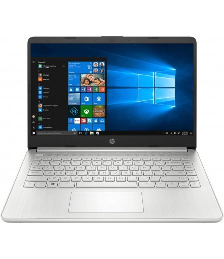 HP 14 Thin & Light 14-inch FHD Laptop (11th Gen Core i5-1135G7, 8GB RAM, 512GB SSD, Windows 10, Office H&S 2019, 1.46Kg) Natural Silver