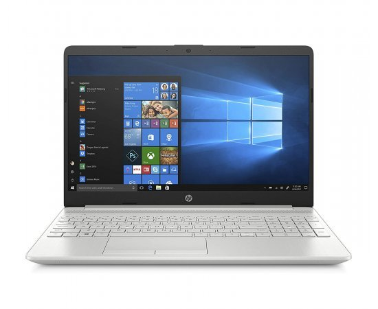 HP 15 15.6-inch (39.6 cm) FHD Laptop with Alexa Built-in (11th Gen Intel Core i5-1135G7, 8GB RAM, 512GB SSD, Windows 10, 2GB MX350 Graphics, 1.75Kg) Natural Silver