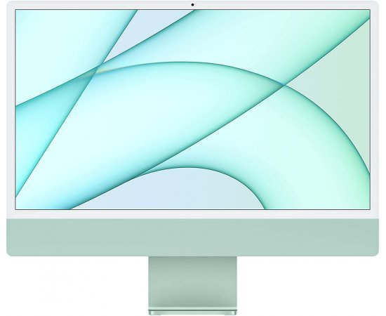 Apple iMac 2021 Model (24-inch, Apple M1 chip with 8‑core CPU and 8‑core GPU, 8GB RAM, 256GB) - Green