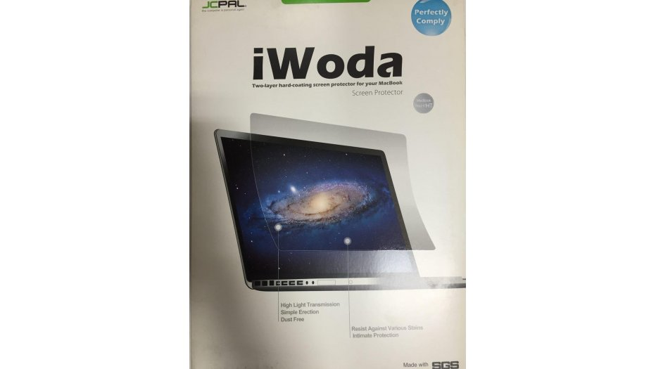 JCPAL iWoda Two-layer hard-coating screen protector for MacBook Pro 15 HT iAccessories