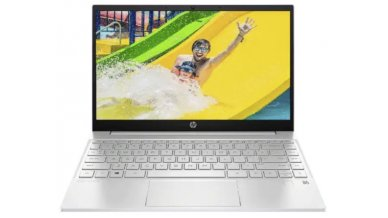 """HP Pavilion 13.3"""" FHD 250 nits Ultra Thin Laptop with Alexa (11th Gen Core i5-1135G7, 16GB RAM, 512GB SSD, Iris Graphics, Windows 10, Office H&S 2019, Backlit Keyboard, FPR, 1.24kg) Natural Silver"""