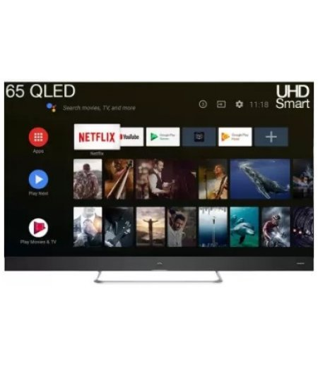 iFFALCON by TCL 65 inch Ultra HD (4K) QLED Smart Android TV (3 HDMI + 2 USB, Android PIE 9.0.HDR | AI-Google Assistant | Netflix, T-cast | Bluetooth, 2 + 16GB)