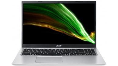 """Acer Aspire 3 A315-58G Thin and Light Laptop (11th Gen Core I5-1135G7, 8GB RAM, 1TB HDD, 2GB Nvidia MX350 Graphics, 15.6"""" Full HD Display, Windows 10, Finger Reader, 1.7 Kgs) Pure Silver"""