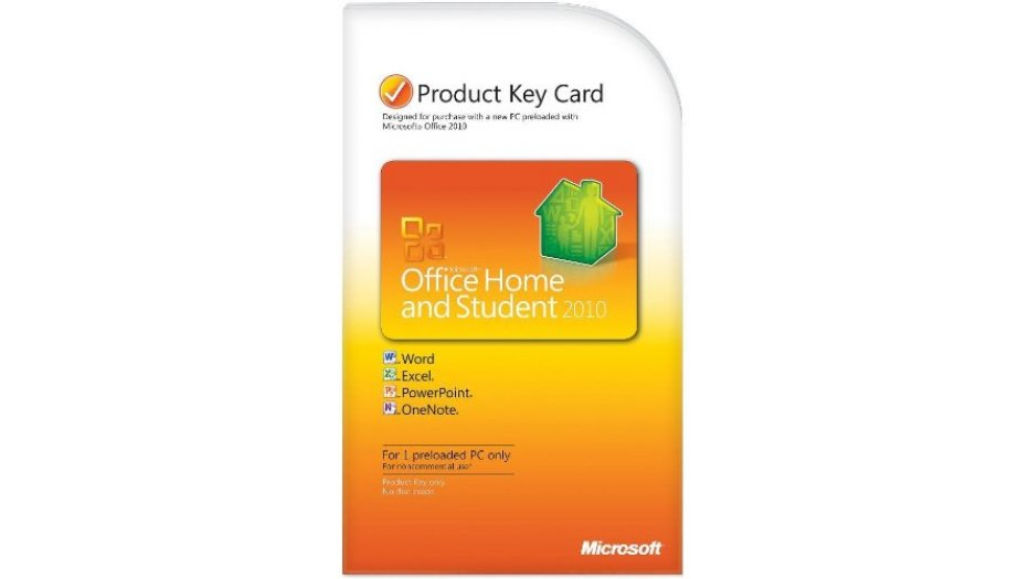 Microsoft Office Home & Student 2010 Key Card - 1PC/1User Software | Solution