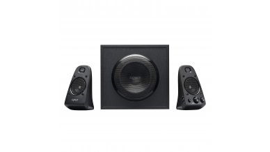 Logitech Z623 THX 2.1 Speaker System with Subwoofer, THX Certified Audio, 400 Watts Peak Power, Deep Bass, Multi Device, 3.5mm & RCA Inputs, Easy Controls, PC/PS4/Xbox/DVD Player/TV/Smartphone/Tablet