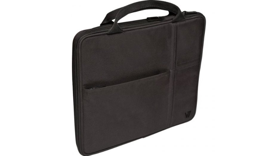 """V7 TD20BLK Carrying Case (Attaché) for 10.1"""" iPad, Tablet PC - Black iAccessories"""