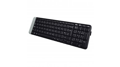 Logitech K230 Compact Wireless Keyboard for Windows, 2.4GHz Wireless with USB Unifying Receiver, Space-Saving Design, 2-Year Battery Life, PC/Laptop- Black