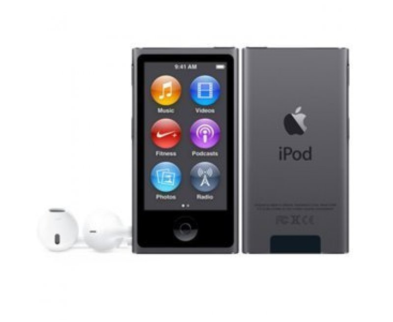 Buy Apple MKN52HN/A 16GB 6th Generation iPod Nano (Space Grey)