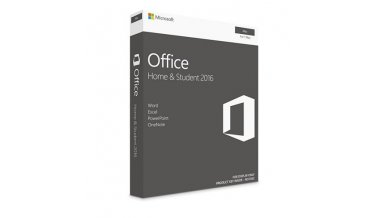 Microsoft Office Home & Student 2016 -1 MAC laptop- Lifetime license (Activation Key Card)