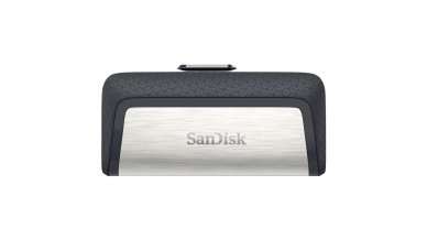 SanDisk Ultra Dual USB Drive 3.0, SDDD2 32GB, USB3.0, Black, USB3.0/Micro-USB Connector, OTG-Enabled Android Devices, 5Y