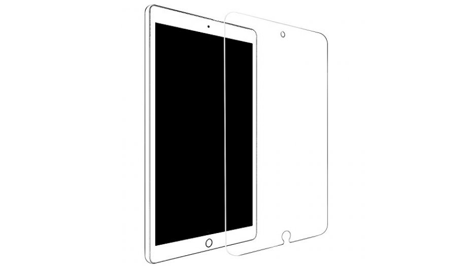 iPad Pro 10.5 Tempered Glass, Premium Glass Screen Protector for iPad Pro 10.5 (2017) V1 - Clear Tablet Parts +