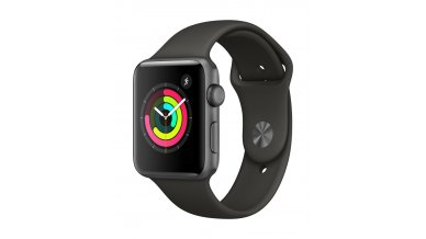 AppleWatch Series4 (GPS, 44mm) - Gold Aluminium Case with Pink Sand Sport Loop