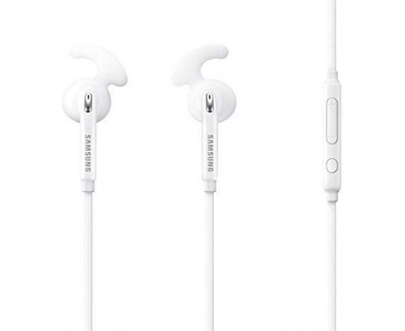 Samsung Earphone With Mic - White
