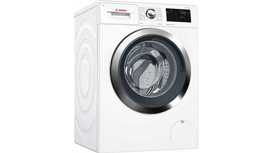 Bosch 9 kg Inverter Fully-Automatic Front Loading Washing Machine (WAT28661IN, White, Inbuilt Heater) Home Appliances