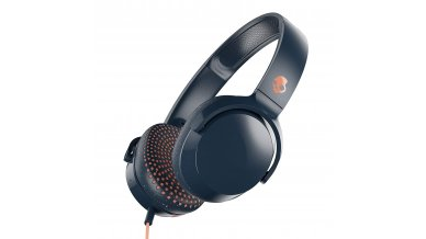 Skullcandy Riff Wired On-Ear Headphone with Mic (Blue/Speckle/Sunset)