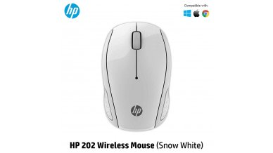 HP 202 Wireless Mouse (Snow White)