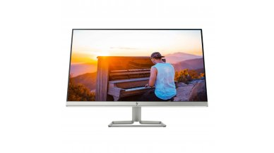 HP 27-inch Ultra-Slim Full HD Computer Monitor - AMD FreeSync, Built-in Speakers, IPS Panel with HDMI and VGA Ports - HP 27fw Display with Audio