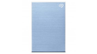 Seagate 1TB Backup Plus Slim Portable External Hard Drive with Free 2 Month Adobe CC Photography Plan - Light Blue (2019 Edition)