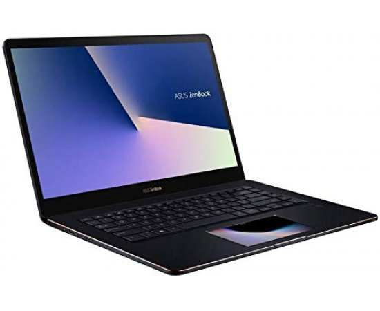 Asus ZenBook Pro 15 UX580GE 15.6' UHD IPS Touch Laptop {8th Gen Core i9-8950HK, 16GB RAM, 1TB SSD, 4GB GTX 1050Ti Graphics, Finger Print, Backlit Keyboard, Windows 10, 1.8Kg} Deep Dive Blue