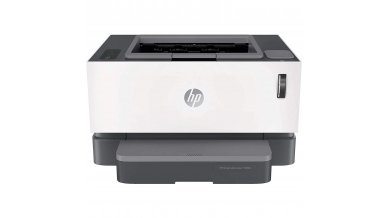 HP Neverstop Laser Tank Direct Wi-fi Single Function 1000w with Google Cloud Print(Print Only, Black)