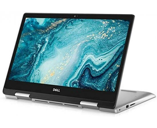 "Dell New Inspiron 5491 2-in-1 14"" Full HD Touch Screen Laptop (10th Gen Core i3-10110U, 4GB RAM, 512GB SSD, Windows 10, Office H&S 2019, Backlit Keyboard) Silver"