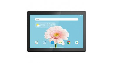 """Lenovo M10 X-505X Variant 1 Tablet (Qualcomm Quad Core 2.0 GHz, 4G Calling + WiFi (VoLTE), 2GB RAM, 16GB Storage, 10"""" HD, 5MP AF   2MP, 4850 mAh, Android 9.0)"""