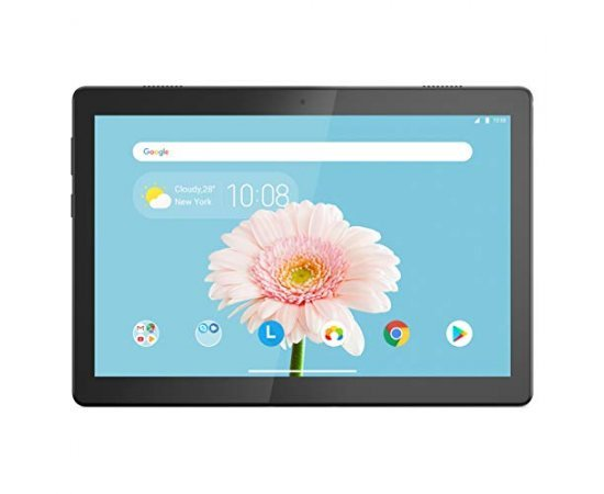 "Lenovo M10 X-505X Variant 1 Tablet (Qualcomm Quad Core 2.0 GHz, 4G Calling + WiFi (VoLTE), 2GB RAM, 16GB Storage, 10"" HD, 5MP AF 