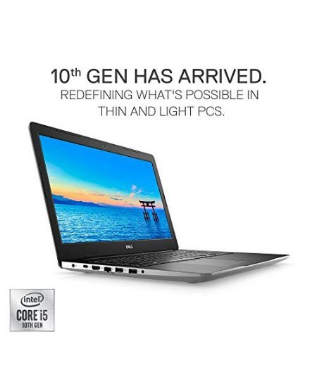 DELL Inspiron 3593 15.6-inch Laptop 2020 Series(10th Gen Core i5-1035G1, 8GB RAM, 512GB SSD, Intel HD Graphics, Windows 10, Office H&S 2019, Backlit Keyboard) Platinum Silver