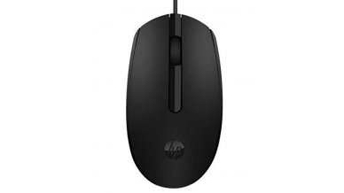 HP M10 Wired USB Mouse with 3 Buttons High Definition 1000DPI Optical Tracking and Ambidextrous Design