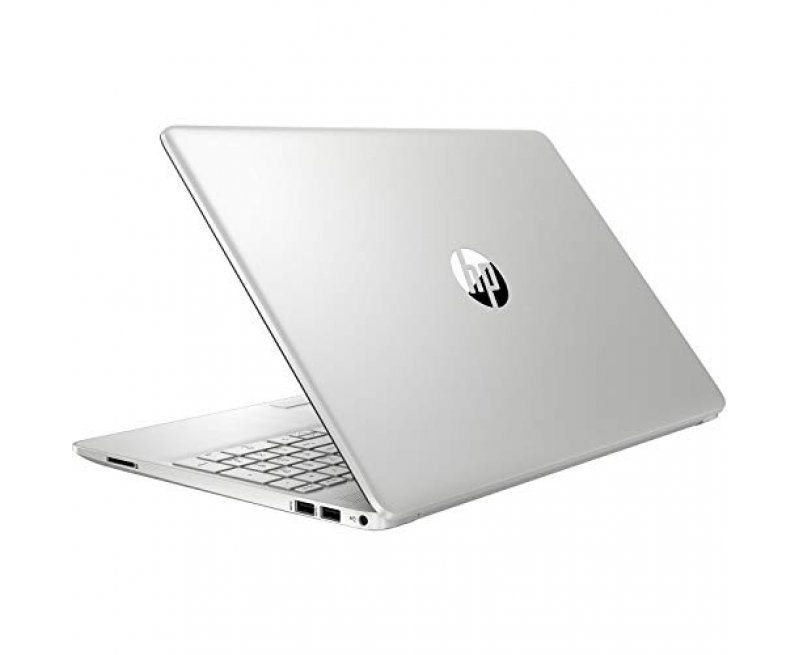 """HP 15s (2020 Series) 15.6"""" FHD IPS micro edge Thin & Light Laptop with Alexa (11th Gen Core i3-1115G4, 8GB RAM, 1TB HDD, Integrated IRIS Graphics, Windows 10, Office H&S 2019, 1.77 kg) Natural Silver"""