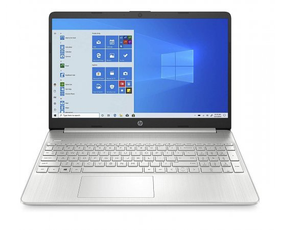 "HP 15s Thin and Light Laptop (Ryzen R3-3550U, 8GB RAM, 1TB HDD, 15.6"" FHD, Windows 10, Office H&S 2019, 1.74 Kg) Natural Silver"