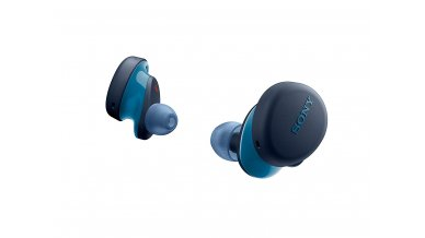 Sony WF-XB700 Truly Wireless Extra Bass Bluetooth Earbuds/Headphones, True Wireless Earbuds with Mic for Phone Calls, 18 Hours Battery Life, Quick Charge, BT Ver 5.0 (Blue)