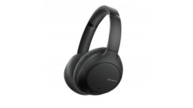 Sony WH-CH710N Noise Cancelling Wireless Headphones : Bluetooth Over The Ear Headset with Mic for Phone-Call, 35 Hours Battery Life, Quick Charge and Google Assitant - Black