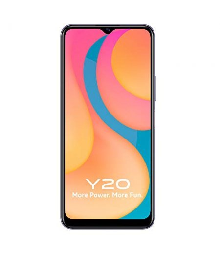 Vivo Y20 (Dawn White, 6GB RAM, 64GB Storage)