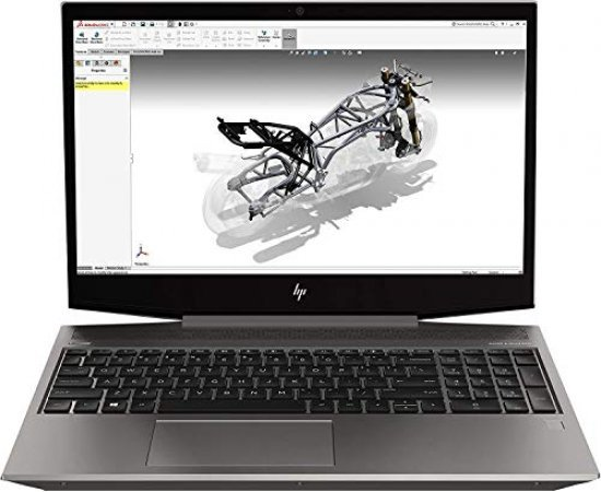 """HP ZBook 15v G5 15.6"""" FHD Mobile Workstation (9th Gen Core i7-9750H, 16GB RAM, 2TB HDD, Windows 10 Pro, 4GB Quadro P600 Graphics, Spill Proof Backlit KB)"""