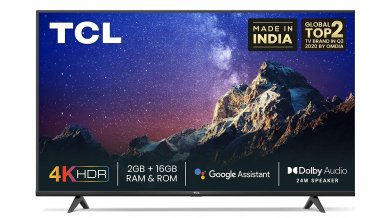 TCL 165.1 cm (65 inches) 4K Ultra HD Certified Android Smart LED TV 65P615 (Black) (2020 Model)