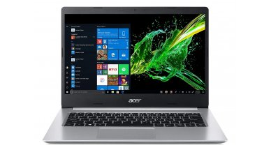 """Acer Aspire 5 A514-53 Thin and Light Laptop (10th Gen Core i3-1005G1, 4GB RAM, 1TB HDD, Window 10, 14"""" HD Display, 1.6 kg) Pure Silver"""