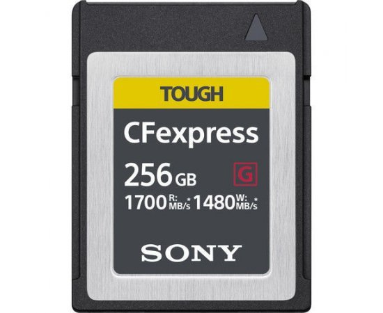 Sony CEB-G256 256GB Ultra Fast CFexpress Memory Card 1700MB/s Read/1480MB/s