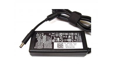 Dell Original Laptop Adapter Charger 65W 19.5V 3.34A (New Pin 4.5*3.0Mm) Mgjn9 For Inspiron 15 (3551 I3551 3552 3558) 15 5000 Series 15 (I5555 I5558 5551 I7558 7568) & Power Cord