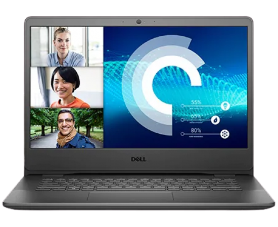Dell Vostro 3405 14inch HD AG Laptop (Ryzen-3 3250U, 4GB RAM, 1TB HDD, Vega Graphics, Windows 10, Office H&S 2019) Accent Black