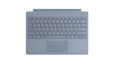 Microsoft Surface Pro Signature Type Cover - Ice Blue (Work with Surface Pro 7/6/5/4)
