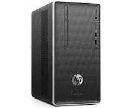 HP Pavilion 590-p0056in Desktop (8th Gen i5-8400, 8GB RAM, 2TB HDD, Windows 10Home, Office H&S 2019, Integrated Graphics, DVD RW, Wired Keyboard & Mouse ) Ash Silver