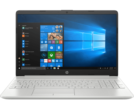 HP 15s-dr1000tx Laptop (10th Gen i5 10201U, 8GB, 1TB + 256SSD, 2GB NVIDIA GeForce MX130, Finger Print Reader, Windows 10, Backlit Keyboard, Office H & S 2016) Silver