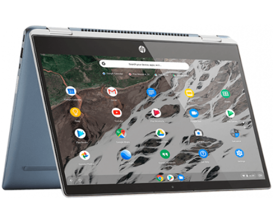"HP 12b Chromebook (Intel N4020, 4GB RAM, 64GB SSD, 256GB expandable, 100GB Cloud storage, 12"" HD Touch, 3:2 aspect ratio, Intel UHD Graphics, Chrome OS/ G-suite, Free MS Ofiice apps, Backlit KBD, Google Assistant, USI Pen capability)"