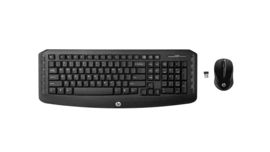 HP Wireless Keyboard + Mouse (made for India with ₹symbol Keyboard & Mouse