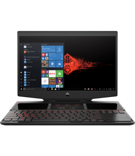 HP OMEN X 2S 15-dg0019TX 15-inch Laptop (9th Gen Intel Core i9-9880H, 16GB RAM, 1TB SSD, 8GB NVIDIA RTX 2080, Integrated 6-inch 1080p 2nd screen with touch, FHD IPS, Windows 10