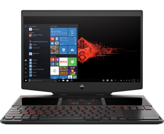 HP OMEN X 2S 15-dg0018TX 15-inch Laptop (9th Gen Intel Core i7-9750H, 16GB RAM, 512GB SSD, 8GB NVIDIA RTX 2080, Integrated 6-inch 1080p 2nd screen with touch, FHD IPS, Windows 10)
